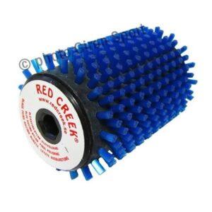 RC roterande borste blå racing nylon