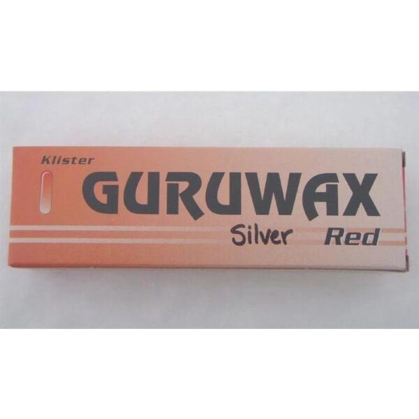 Guruwax klister Röd silver